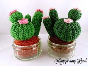 Une plante qui ne meut jamais ça vous tentes ? Alors lances toi et tricotes ton cactus ! [Tuto]