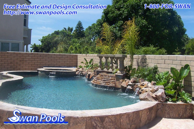 163 best swan pools aesthetics plaster images on pinterest for Pool design estimator