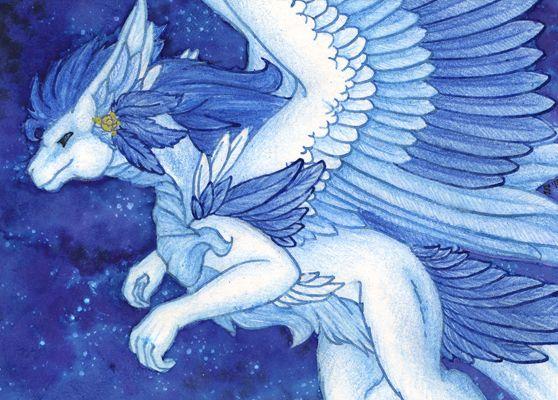 ACEO/ATC: To the Stars by Samantha-dragon.deviantart.com on @DeviantArt