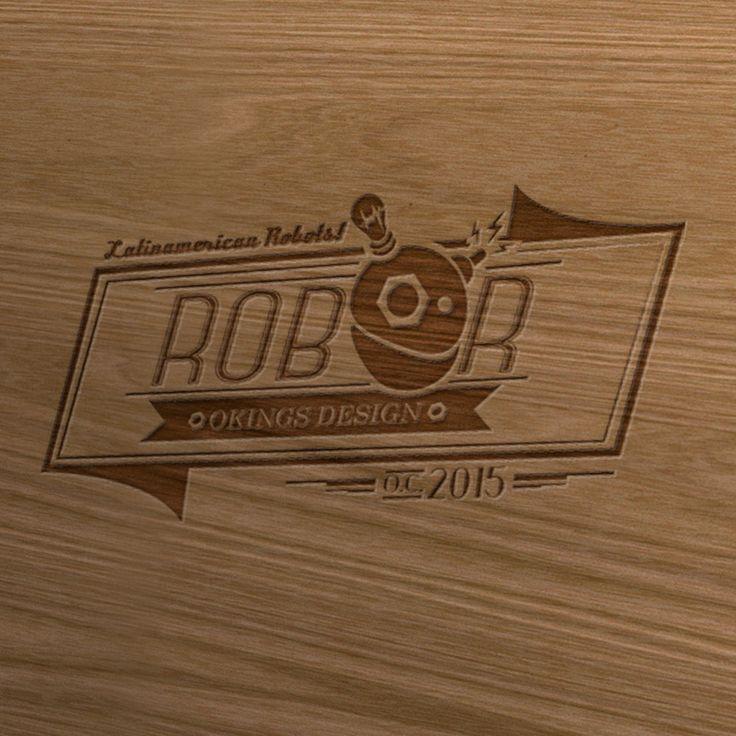 Logo realizado para la marca de moda freak ROBOR. Diseño elaborado por la agencia de publicidad Laboratorio Gráfico Bogotá.