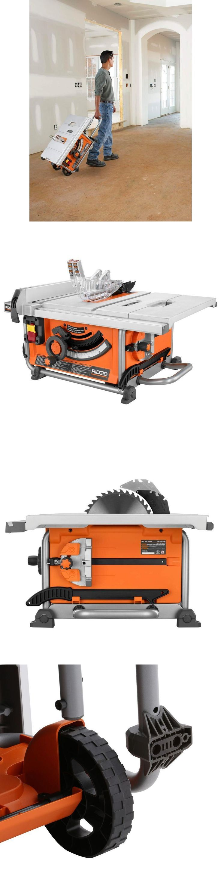 Table Saws 122835: Rigid Compact Table Saw 15 Amp 10 In. Heavy Duty Portable Power Tool -> BUY IT NOW ONLY: $297 on eBay!