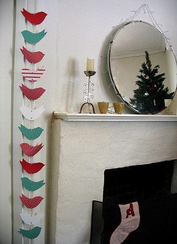 Paper Christmas Garland
