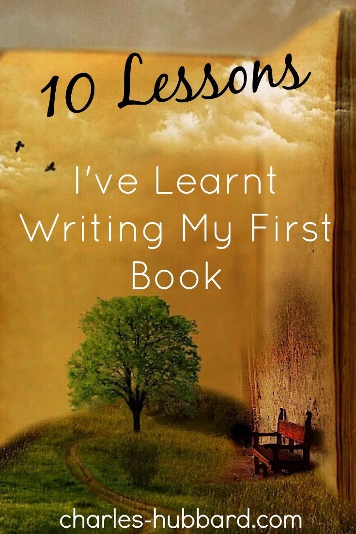 10 Lessons I've learnt writing a book