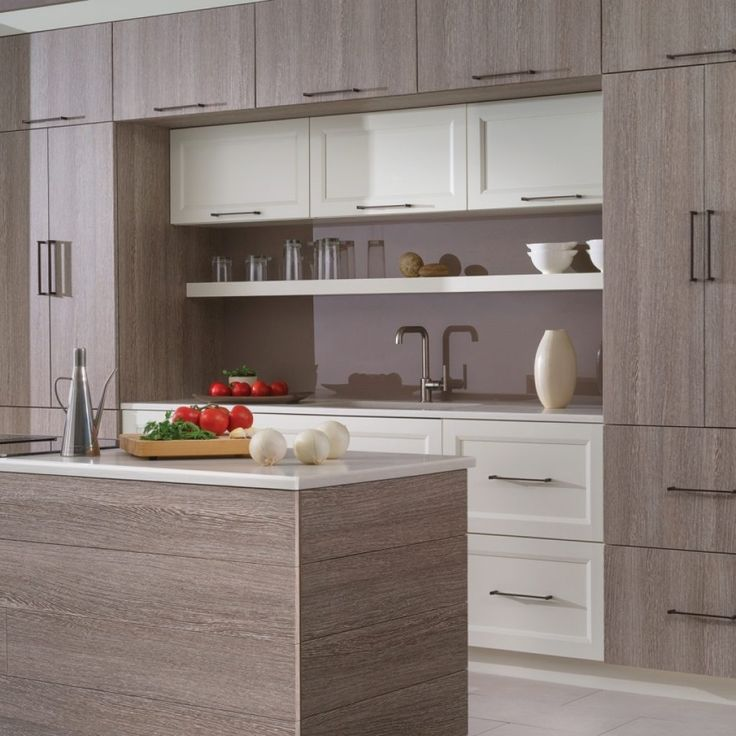 White Foil Kitchen Cabinet Doors