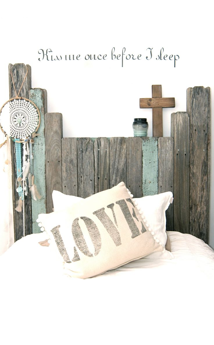 Recycled timber bed head - by Timber & Chisel