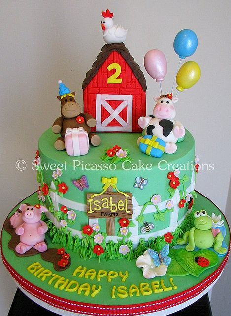 Love this! Debating on how difficult it may be. But come time to taylors party im sure this cake will be there.