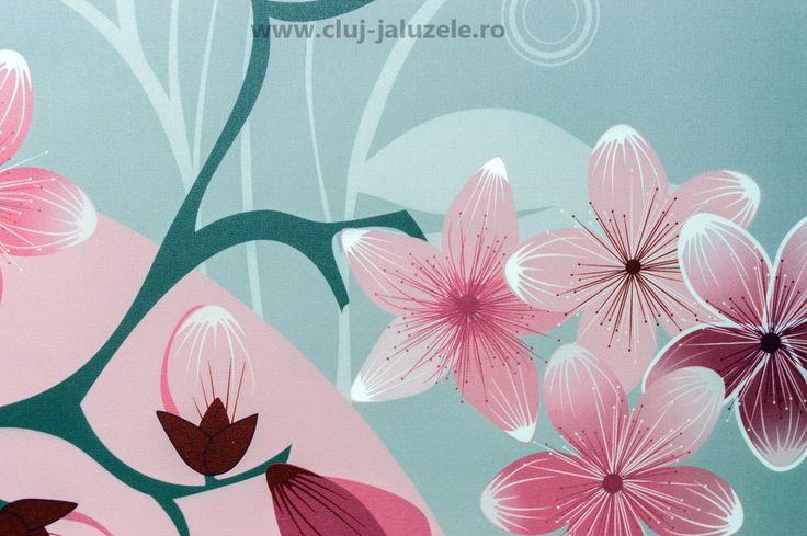 Rolete personalizate - Motiv floral - Blog Cluj Jaluzele