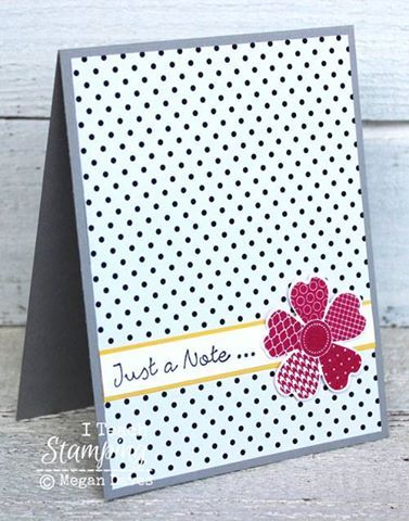 Stampin' Up! Cards   Card Making Ideas   Papercrafts   Check out another one of my easy handmade greeting card ideas using a retiring product that is on sale for 40% off - you will LOVE it!