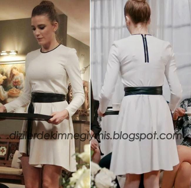 Medcezir - Mira (Serenay Sarıkaya), Maje White Dress please follow me,thank you i will refollow you later