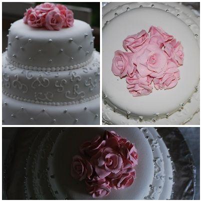Camillas mat & kakedesign: Hvordan lage bryllups stablekake.
