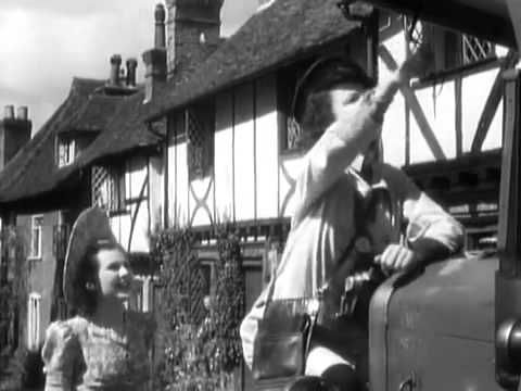 "A Canterbury Tale (1944) Eric Portman, Sheila Sim, Dennis Price. A 'Land Girl', an American GI, and a British soldier find themselves together in a small Kent town on the road to Canterbury. The town is being plagued by a mysterious ""glue-man"", who pours glue on the hair of girls dating soldiers after dark. The 3 attempt to track him down, and begin to have suspicions of the local magistrate, an eccentric figure with a strange, mystical vision of the history of England  and Canterbury."