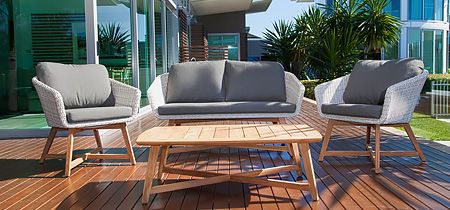 Danske armchair teak provence southend the outdoor for Outdoor furniture specialists