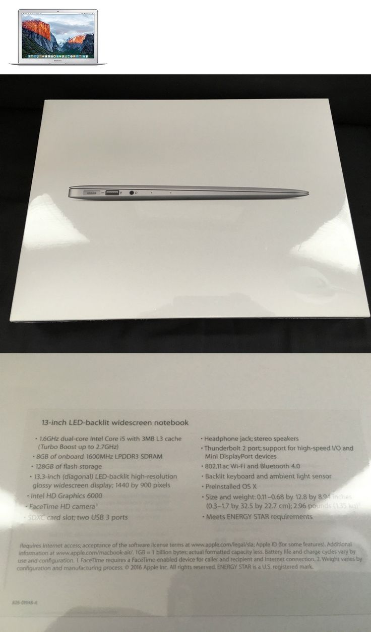 general for sale: New Apple Macbook Air 13.3 Mmgf2ll/A 13.3 Inch 128Gb 8Gb Laptop 13 Sealed BUY IT NOW ONLY: $889.95