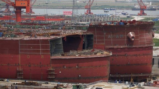 BBC News - China's slowdown and the global glut