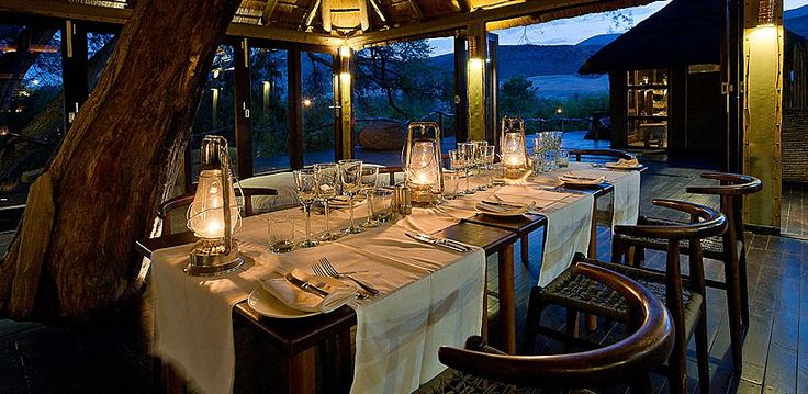 Serra Camp, Kunene, Namibia | Wilderness Safaris Cafema The sublime setting of the dining room
