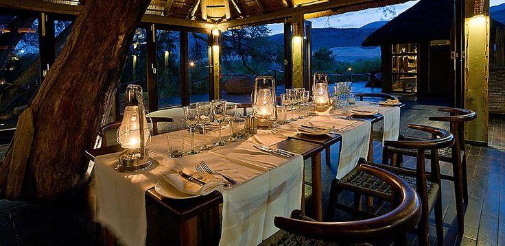 Serra Camp, Kunene, Namibia | Wilderness Safaris Cafema The sublime setting of the dining room