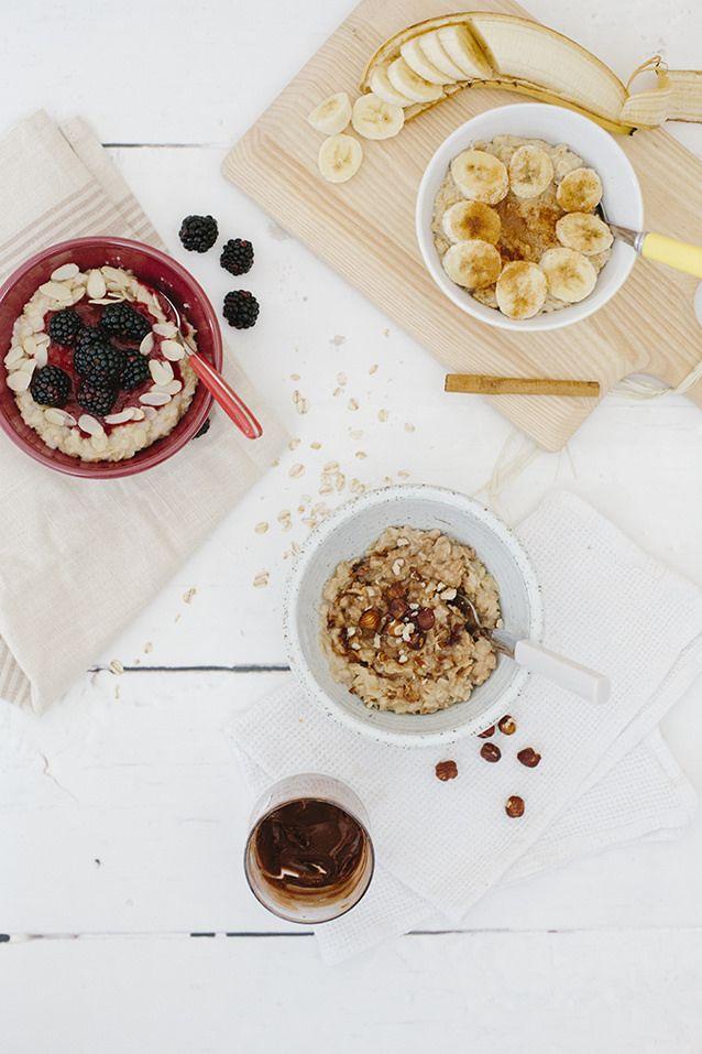 3 Easy Porridge Ideas
