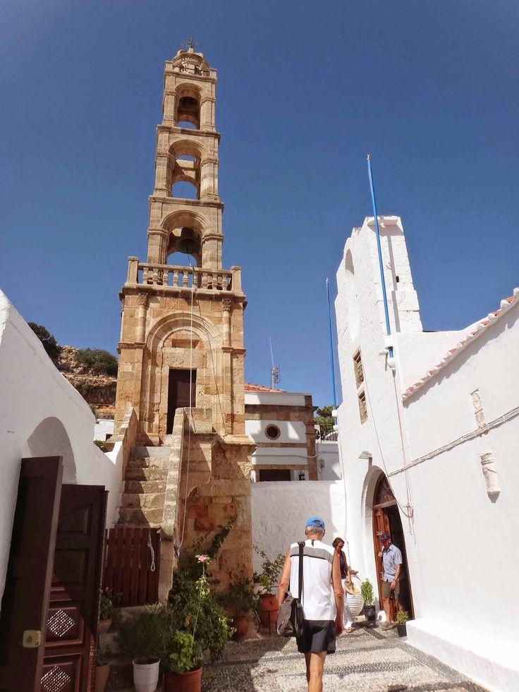 Panagia of Lindos church, Lindos, Rhodes, Greece