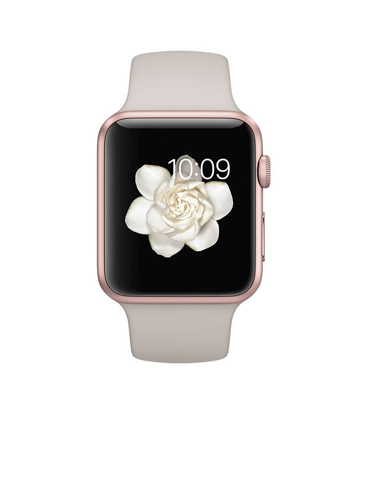 Apple Watch Sport 42mm Series 1 Rose Gold Aluminum Case with Stone Sport Band (Certified Refurbished). This Certified Refurbished product has been tested and certified to work and look like new, with minimal to no signs of wear, by a specialized third-party seller approved by Amazon. The product is backed by a minimum 90-day warranty, and may arrive in a generic brown or white box. Accessories may be generic and not directly from the manufacturer. System on a chip: Apple S1. Sport Band…