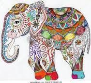 Resultado de imagen para elefante indio dibujo