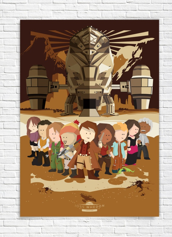 Firefly  Serenity  All Characters  All cast  Joss by bensmind, $19.99