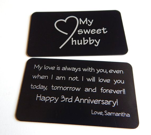 3 Year Wedding Anniversary Gift For Husband : 1000+ ideas about 3rd Wedding Anniversary on Pinterest Gift ideas ...