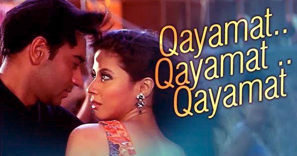 Qayamat Qayamat Deewane Lyrics Ajay Devgn Urmila Matondkar Mahima Chaudhry Alka Yagnik Sukhwinder Singh Song Songs Lyrics Mahima Chaudhry