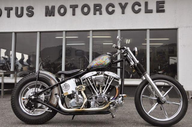 ϟ Hell Kustom ϟ: Harley Davidson Shovelhead 1984 By Budlotus Motorc...
