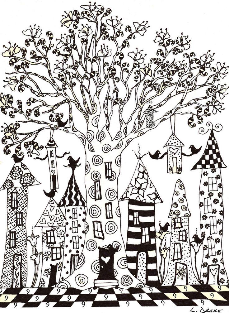 Malvorlagen Hundertwasser Häuser | My blog
