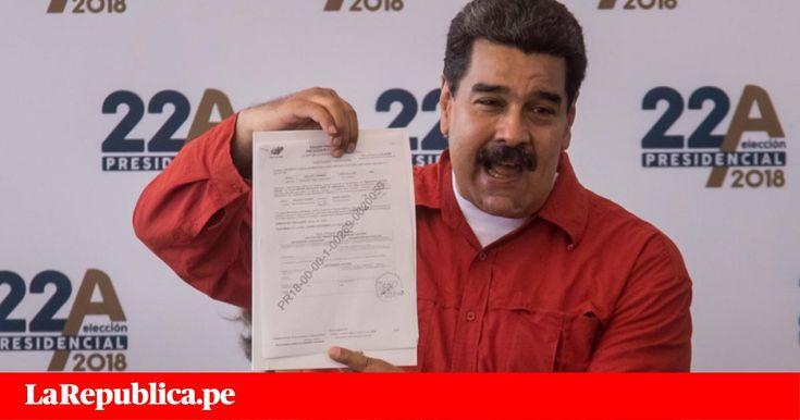 Elecciones Venezuela Nicolás Maduro formalizó candidatura para su reelección - LaRepública.pe #757LivePE
