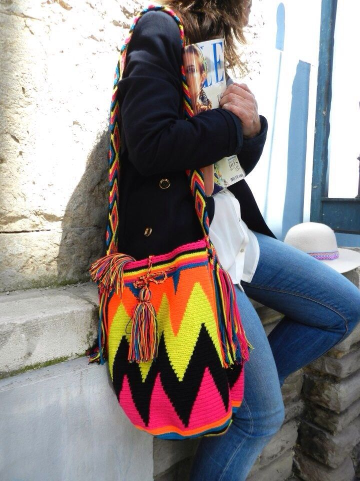 Wayuu bags available at crystalcovecollective.com.au