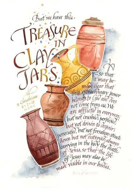 Clay Jars 2 Corinthians 4:7-10