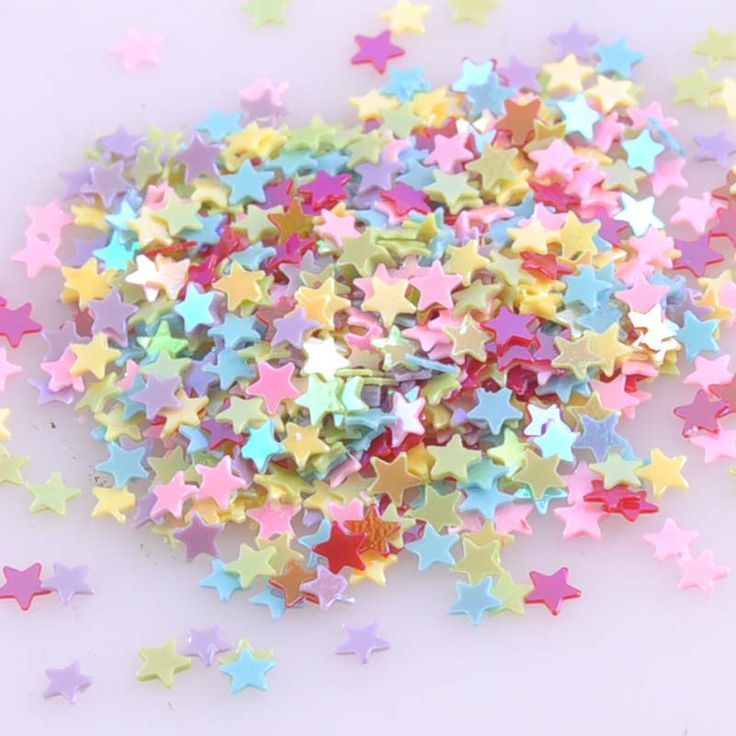 23g Mini Mixed Star Sequin For Crafts&Paillette Sewing Scrapbooking lentejuelas 3mm CP0802