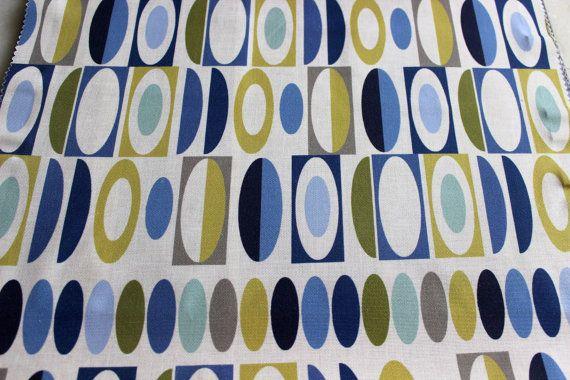 Saphire Eleta Magic Fabric By The Yard Curtain by FabricMart
