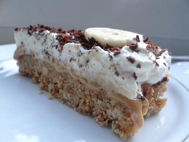 Słodkości i nie tylko: Ciasto banoffee