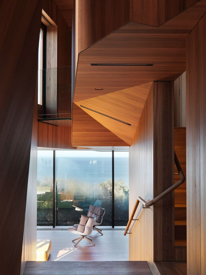 Cinematic Suspense Meets Domestic Calmness In Fairhaven Beach House by John Wardle Architects | http://www.yatzer.com/fairhaven-beach-house  photo © Trevor Mein.