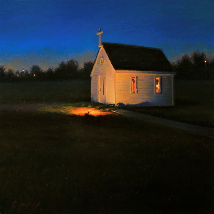 """The Little Church, Matthew Cornell...reminds me of the Thanksgiving-time song """"It is Good To Be Simple"""""""