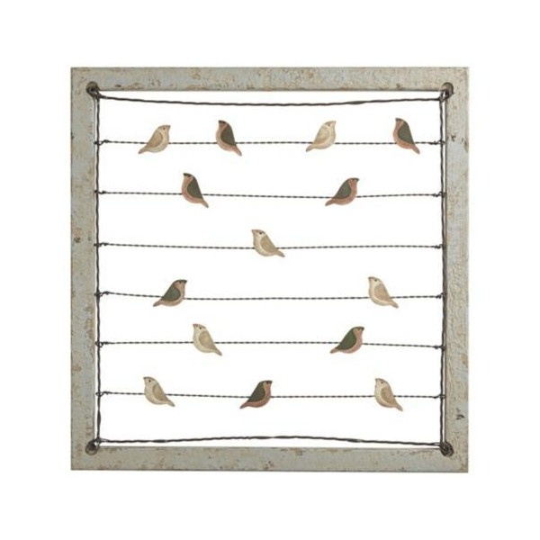 Birds On A Wire Card Or Picture Holder Wall Decor 60