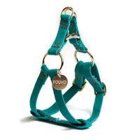 Teal Dog Harness
