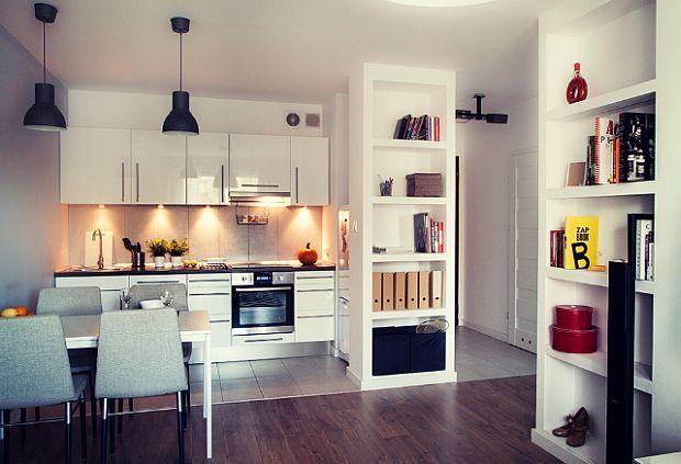 Widok na kuchnię
