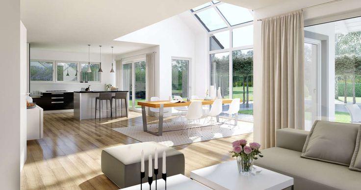 Kern-Haus Familienhaus Maxime Wohnzimmer                                                                                                                                                                                 Mehr