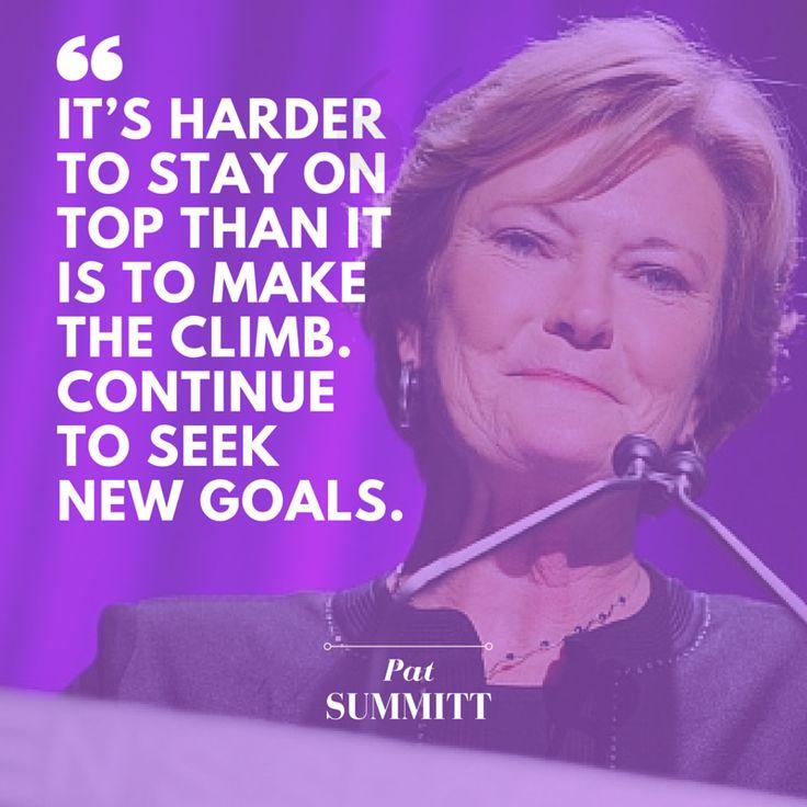 Pat Summitt Quotes: Coach Pat Summitt's 10 Most Inspirational Quotes