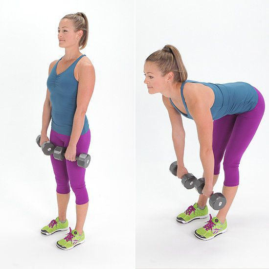 Romanian Deadlifts: Here's a move that'll not only work your booty but also your hamstrings and quads!