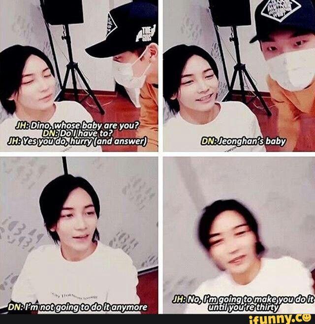 Seventeen S Jeonghan Amp Dino Say The Name Seventeen
