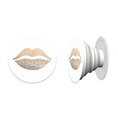 Popsocket Special Edition - Golden Lips:Amazon.co.uk:Electronics