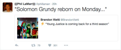 The voice actors of Young Justice are glad to be back - Phil LaMarr (Aquaman)