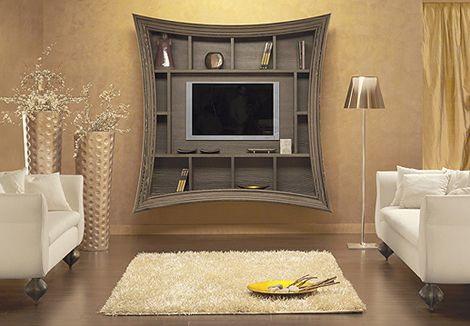 The discerning modern consumer is always searching for the best ways to display the new generation of flat screen TVs. We think that these decorative TV frames from Must...