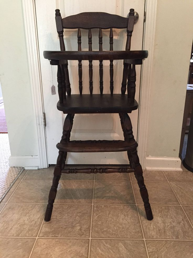 Best 25 Painted high chairs ideas on Pinterest  Wooden