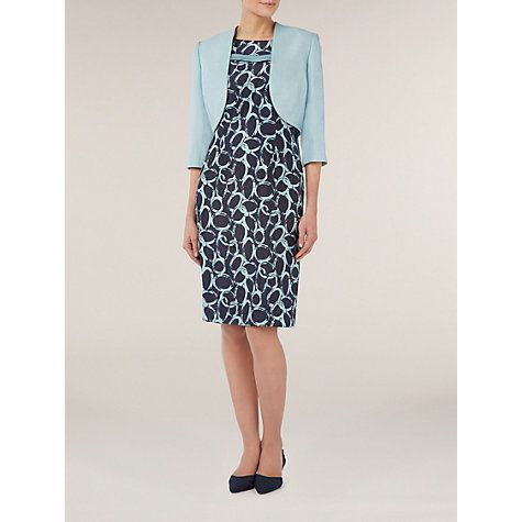 Buy Jacques Vert Tailored Bolero, Blue Online at johnlewis.com