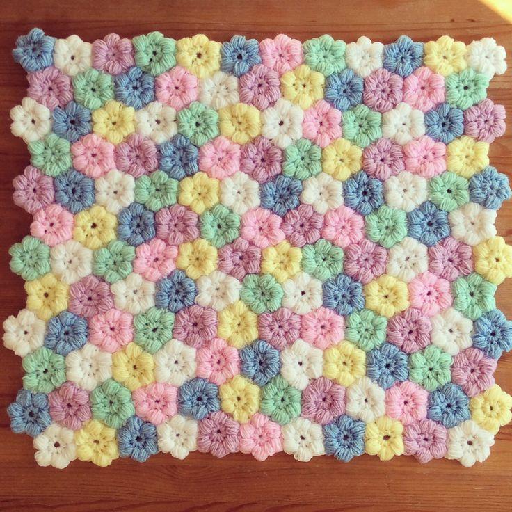 Crochet baby blanket ( tığ işi bebek battaniyesi )